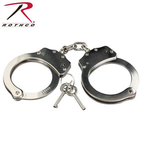 Rothco Professional Handcuffs-Silver (10091)