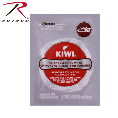 Kiwi Instant Shoe Cleaning Wipes