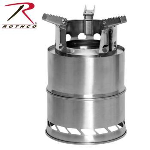 Rothco Stainless Steel Portable Camping / Backpacking Stove (1519)