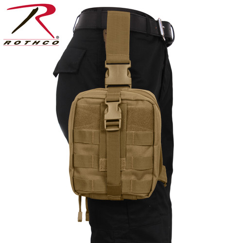 Rothco Drop Leg Medical Pouch- Coyote