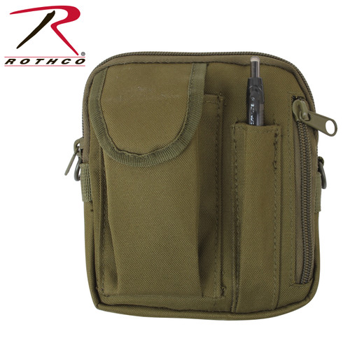 Rothco MOLLE Compatible Excursion Organizer Olive (2727-OD) contents not included