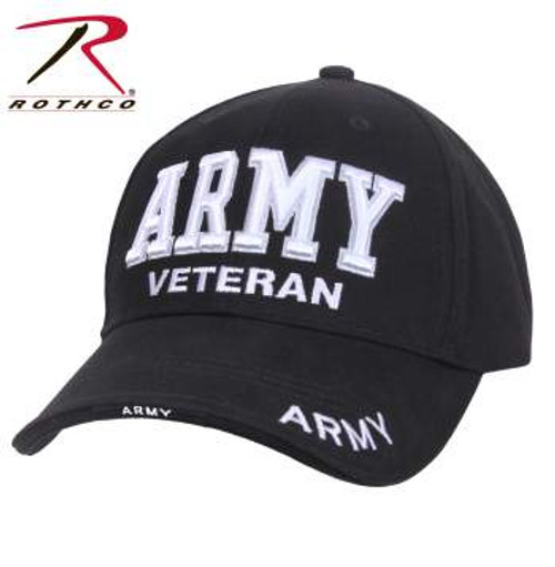 Rothco Deluxe Low Profile Army Veteran Cap