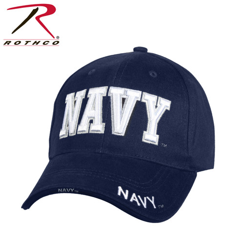 Rothco Deluxe Navy Low Profile Cap-Blue