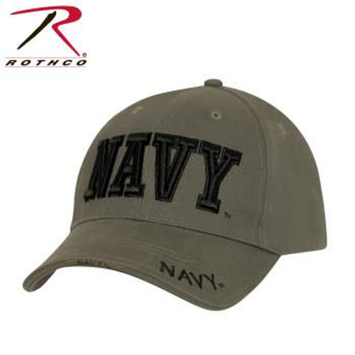 Rothco Deluxe Navy Low Profile Cap-Olive