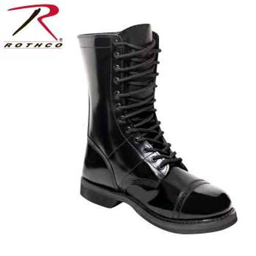 Rothco 10 Inch Leather Jump Boot #5692 NEW ITEM, DROP SHIP ONLY ($7.00 fee per item), CALL TO ORDER!