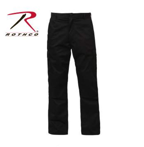 Rothco Rip-Stop SWAT CLOTH BDU Pants-Black