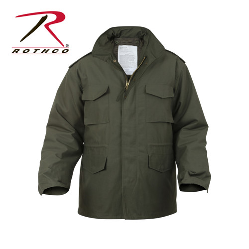 Rothco M-65 Field Jacket with Liner-Olive Drab Green (8238)