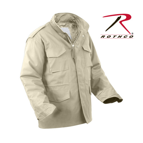 Rothco M-65 Field Jacket with Liner-Khaki(8254)