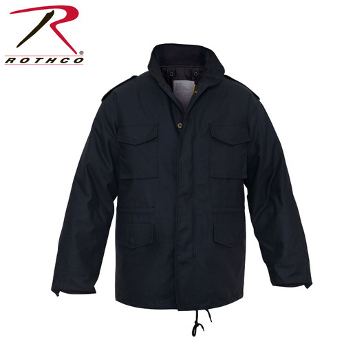 Rothco M-65 Field Jacket with Liner-Midnight Navy Blue (8623)