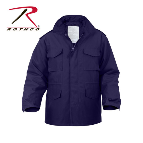 Rothco M-65 Field Jacket with Liner-Navy Blue (8527)