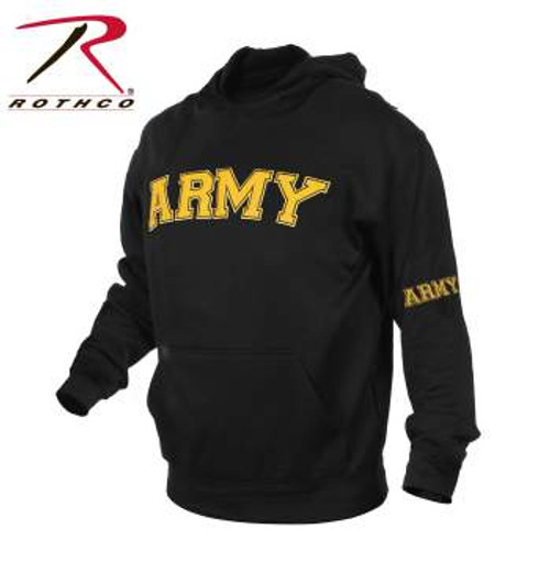Rothco Military Embroidered Pullover Hoodies-ARMY (2055)