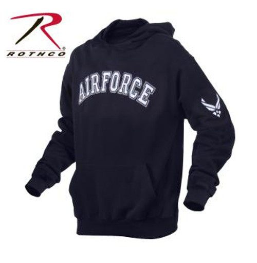 Rothco Military Embroidered Pullover Hoodies-AIR FORCE (2047)  OFFICIALLY LICENSED ITEM