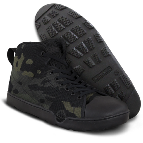 ALTAMA Urban Assault Boots-Mid-Multicam Black (334651)