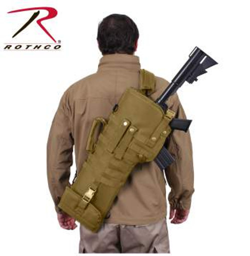 Rothco Tactical MOLLE Rifle Scabbard-Coyote (15911)