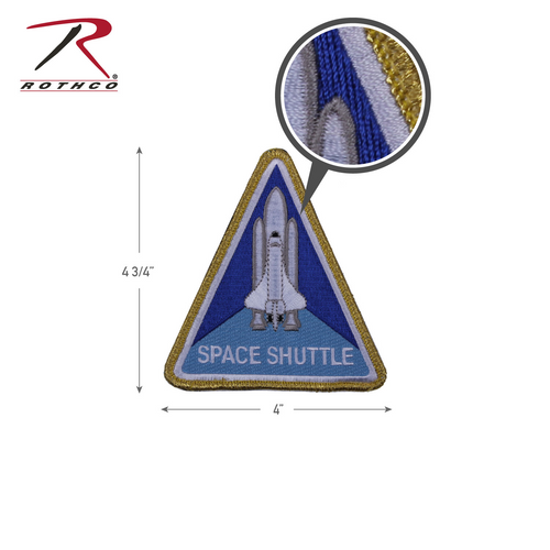 NASA Space Shuttle Morale Patch (1886)