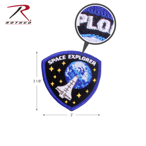 Rothco Space Explorer Morale Patch with Hook Back (1882)