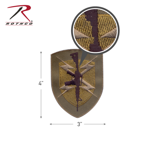 Rothco Gun Shield Morale Patch with Hook Back (72200)
