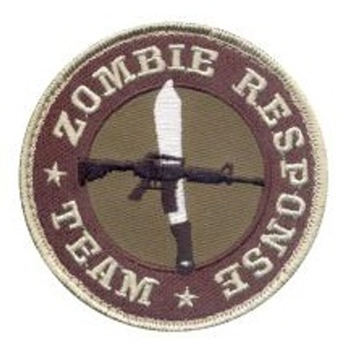Rothco Zombie Response Team Morale Patch with Hook Back (72195)