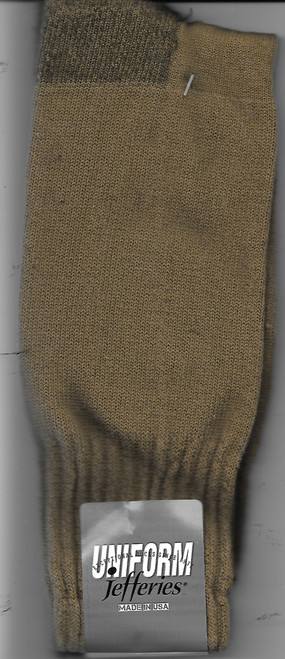 Jefferies Military Uniform Boot Socks-Made In USA  (4019-CB)