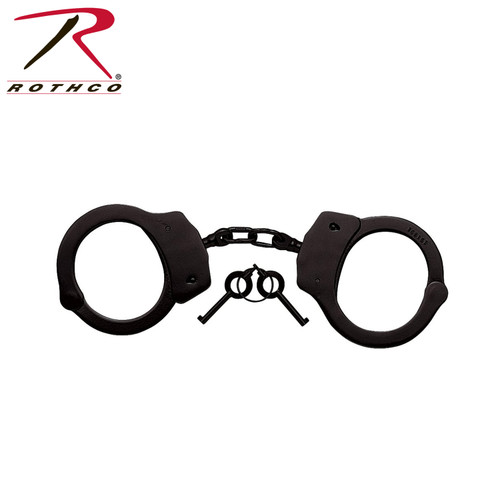 Rothco Professional Handcuffs-Black (10092)