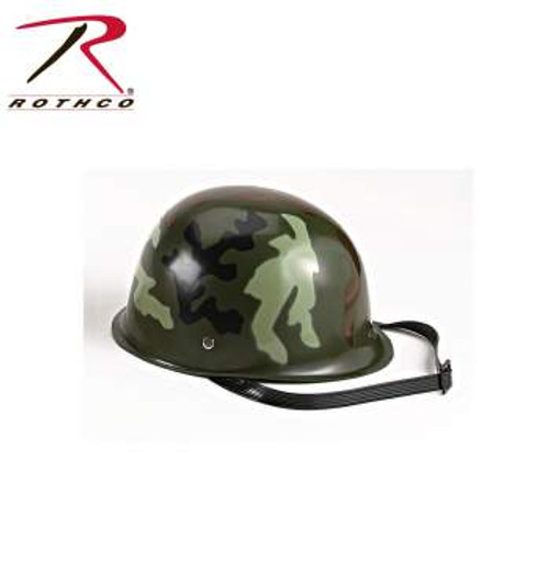 Kid's Woodland Camouflage Military Toy Helmet (595)