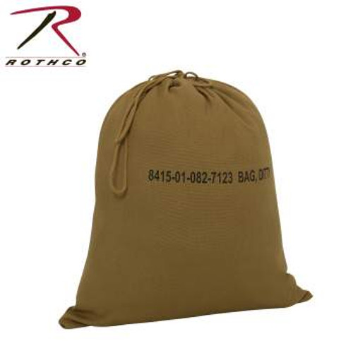 Rothco Military Ditty Bag - 16 Inches x 19 Inches Coyote Brown (2673)
