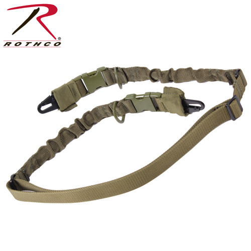Rothco 2-Point Tactical Sling-Olive Drab Green (4654)