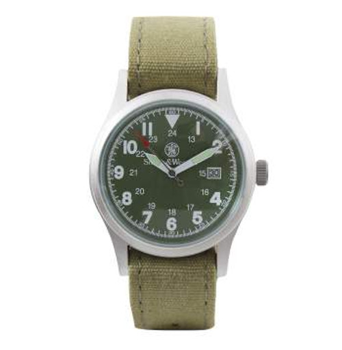 Smith & Wesson Military Watch Set -Olive Face (4314)