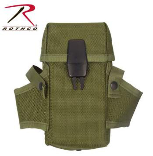 Rothco M-16 Magazine Pouch - Olive Drab Green (9947) - Holds four 30 round magazines M-16/AR-15/M-4