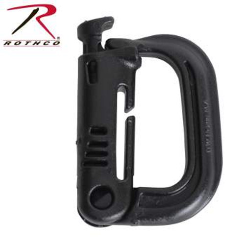 ITW Nexus Plastic Grimloc MOLLE Locking D-Ring (235) Black