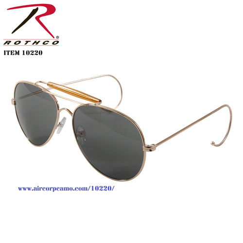 Rothco G.I. Type Air Force Pilots Sunglasses With Case (10220)