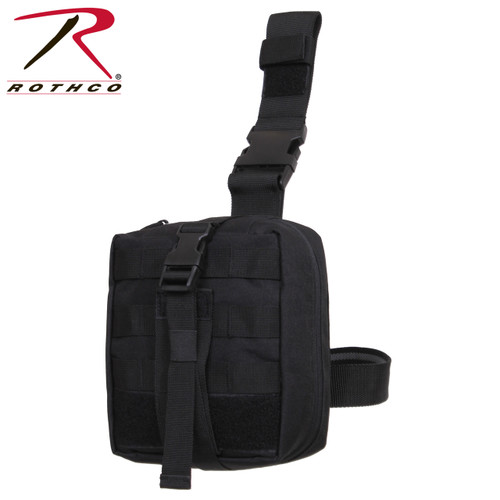 Rothco Drop Leg Medical Pouch- Black