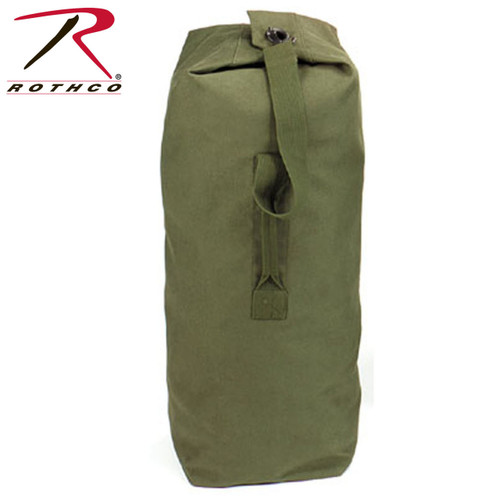 Heavyweight Canvas Military Musette Shoulder Bag Backpack 2270-2272 2274