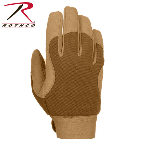 Military Mechanics Gloves-Coyote Brown (4435)