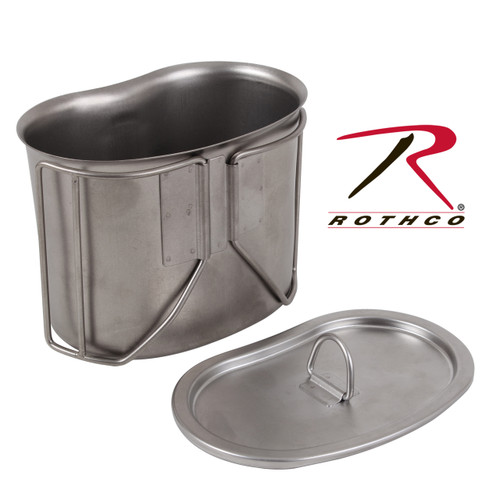 Rothco Stainless Steel Canteen Cup Lid (11512)