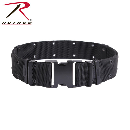 Rothco New Issue Marine Corps Style Quick Release Pistol Belt-Black