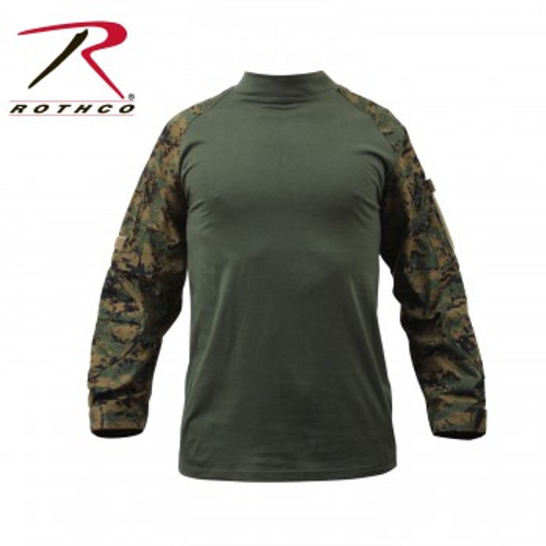 Military NYCO FR Combat Shirt Woodland Digital
