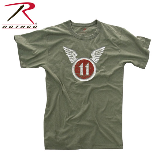 Vintage ''11th Airborne Division'' T-Shirt
