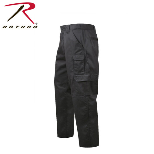 item #4765 BLACK Rothco Tactical Duty Pants Repels body fluids, stain resisitent, zipper fly