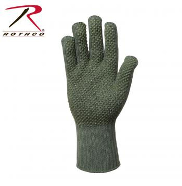 The high-performance military style gloves feature hollow core fibers that retain body heat without overheating