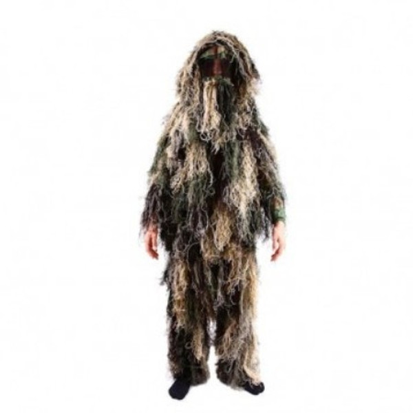Kid's Army Camouflage Ghillie Suit