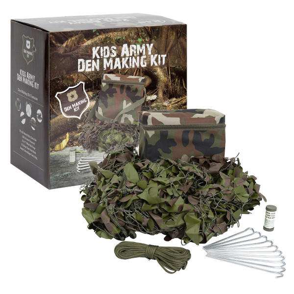 Kid's Army Den Making Kit