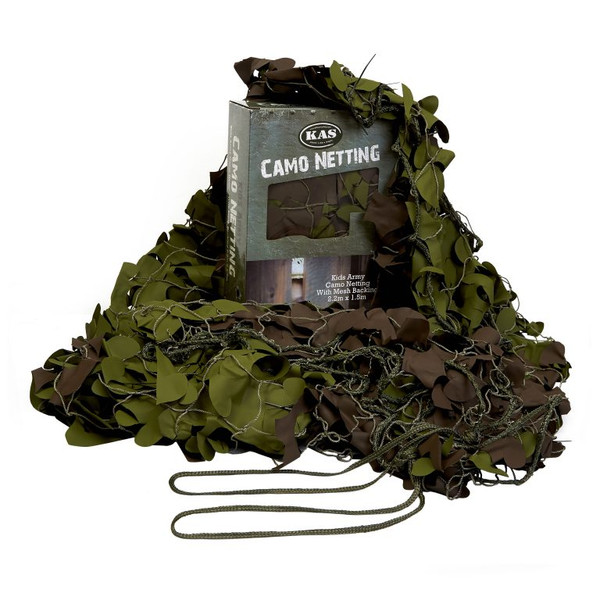 Kid's Army Military Style Camo Netting 7.2 ft. x 4.9 ft.