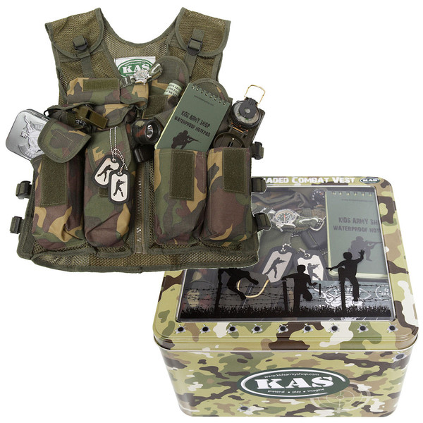 Kid's Army Fully Loaded Combat Vest