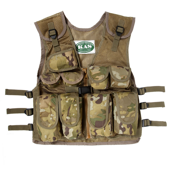 Kid's Army Multi Camo Tactical Vest