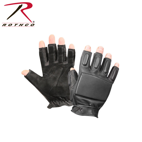 Tactical Fingerless Rappelling Gloves Collection