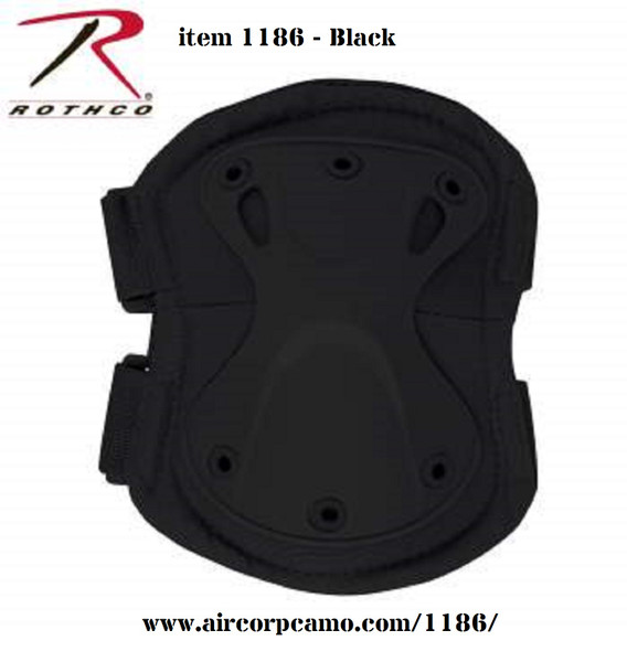 Rothco Low Profile Tactical Elbow Pads - Black (1186)