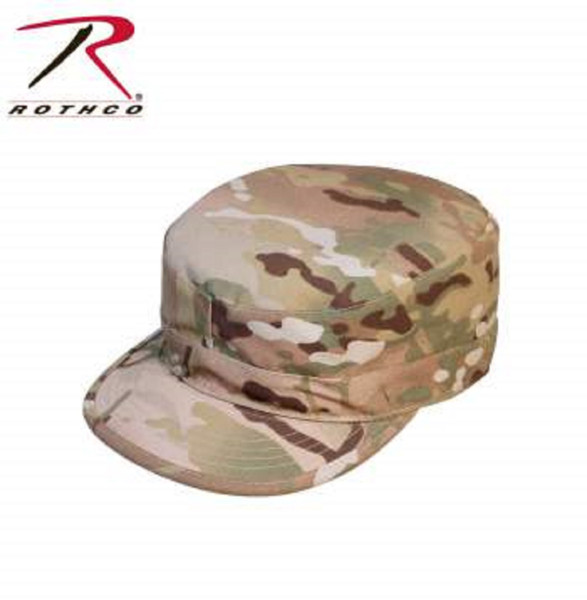 Rothco U.S. Government Military Specifications 2 Ply Fabric Multicam Army Ranger Fatigue Cap