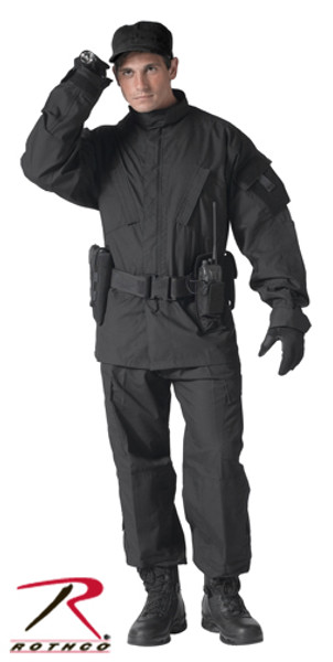 Army Combat Uniform Collection-Black