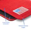 Bersa Thunder 380 C.C. Red Canvas Flag Series Holster